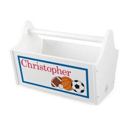 KidKraft Sports Name Toy Caddy