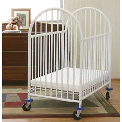 Deluxe Non-Folding Arched Mini Crib