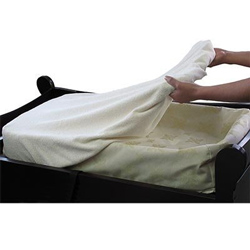 Organic Cotton Terry Cocoon Changing Pad Cover