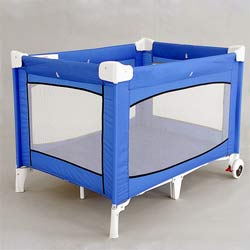 Super Play Yard with Wheels