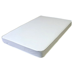 2 Thick Porta Crib Mattress with Laminated Cover