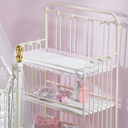 Laced Changing Table Pad Cover