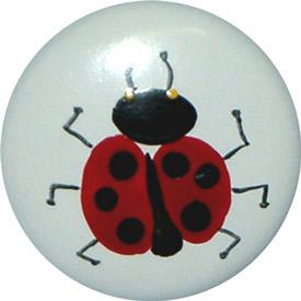 Lady Bug Knobs