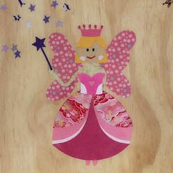Fairy Collage Art Work