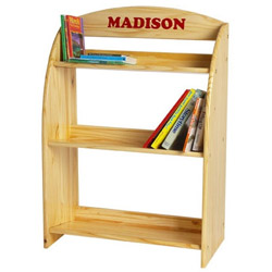 Little Colorado Unfinished Personalized Kid's Bookshelf