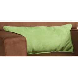 Suave Suede Lumbar Pillow