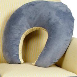 Zippity Striped Nursing Pillow