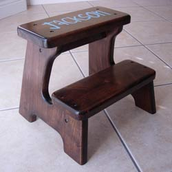 Personalized Double Step Stool