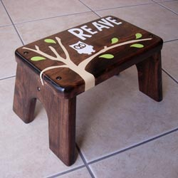 Owl Single Step Stool