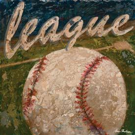 Baseball League Artwork