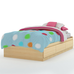 Leo Mates Bed and Headboard
