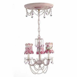 Butterfly and Daisy Crystal Chandelier