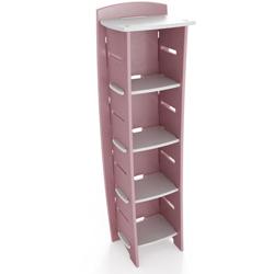 Pastel Fun to Assemble Bookcase