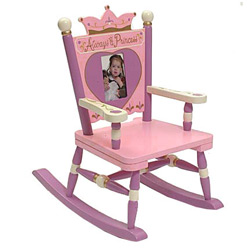 Levels Of Discovery Little Princess Rocking Chair
