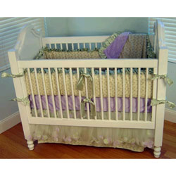 Additional Lilac Trellis Crib Sheet