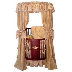 Little Angel Canopy Round Crib