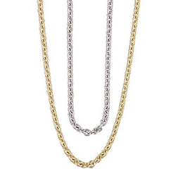 Lifetime Mothers Necklace Cable Chain