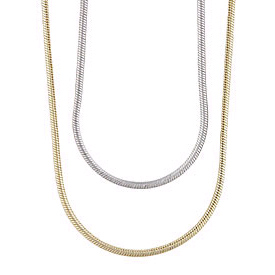 Lifetime Mothers Necklace Snake Chain