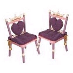 Levels Of Discovery Set of Two Princess Chairs