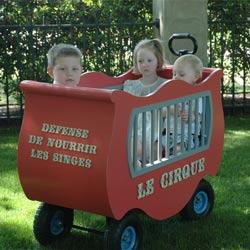 French Circus Wagon