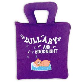 Lullaby and Good Night Personalized Fabric Book