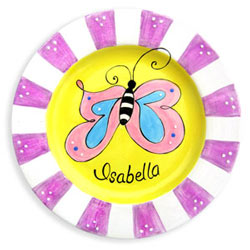 Butterfly Name Plate