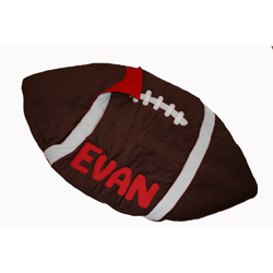 Personalized Football Sleeping Bag