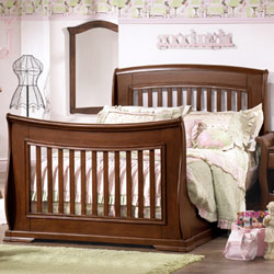 Natart Madison Sleigh  Double Bed