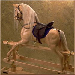 Hennessy Horses Maple Large Rocking Horse