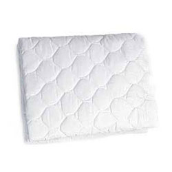 Baby Doll Mattress Protector for Scalloped Cradle