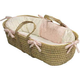 Baby Doll Baby King Moses Basket