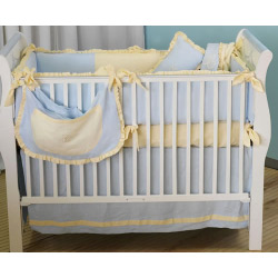 Monogram Crib Bedding Set