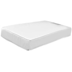 Million Dollar Baby Starbrite II 150 Coil Ultra Firm Crib Mattress With Borderwire