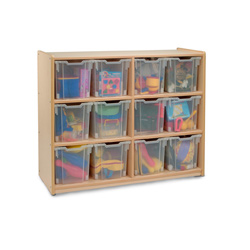 Whitney Brothers Jumbo Tray Storage System