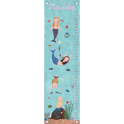 Oopsy Daisy/No Boundaries Mermaids Growth Chart