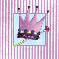 Art4Kids/Creative Images Princess Crown Wall Art