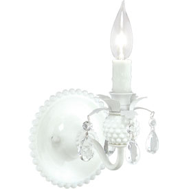 Maura Daniel Milk Glass Sconce