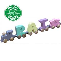 Pastel Color Name Train