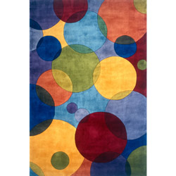 Assorted Colors Bubble Beauty Rug