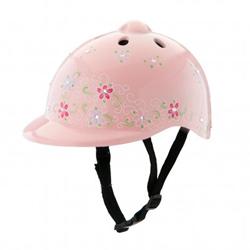 Morgan Cycle Princess Jeweled Bicycle Helmet