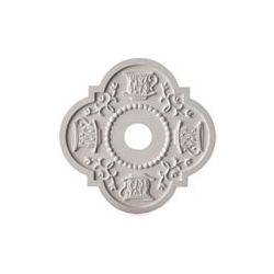 Teacup Chandelier Medallion