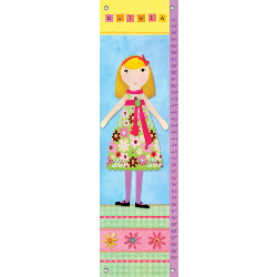 Oopsy Daisy/No Boundaries My Doll Personalized Growth Chart
