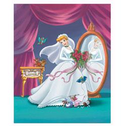 Art4Kids/Creative Images Cinderella Perfect Wedding Wall Art