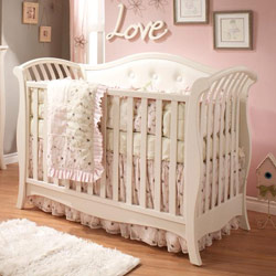 Natart Chloe Convertible Crib