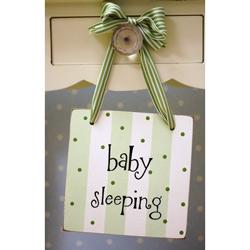 Baby Sleeping Doorknob Hanger