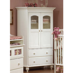 Natart Chelsea Two Drawer Armoire