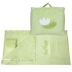Grassy Green Froggy Nap Bag