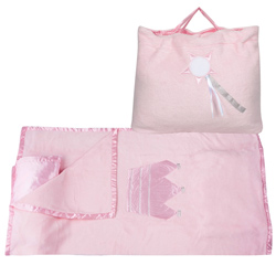 Pink Princess  Nap Bag