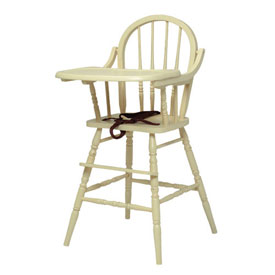 Newport Cottages Classic Wooden High Chair