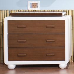 Natart Panda 3 Drawer Dresser